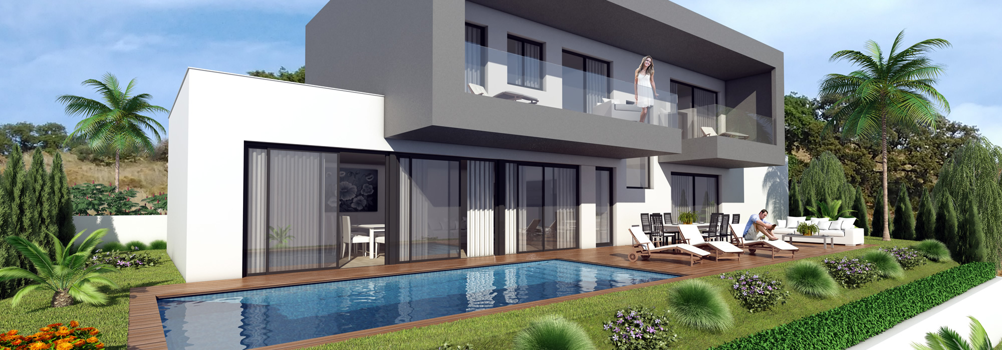 Modern Built Spanish Villas